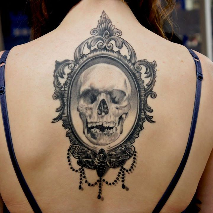 08. Skull Tattoos by Adem Senturk.