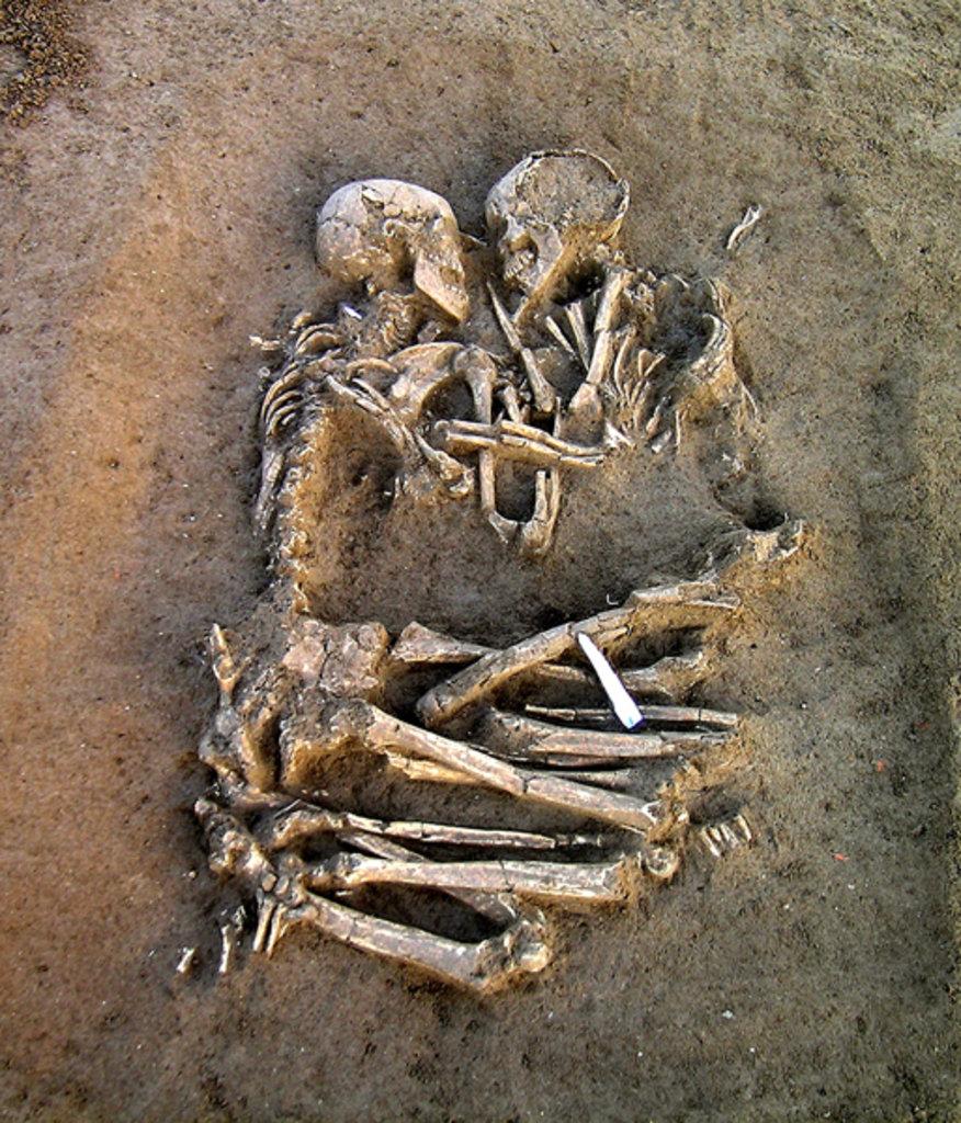 Amantes de Valdaro. Neolítico. Mântua. Itália