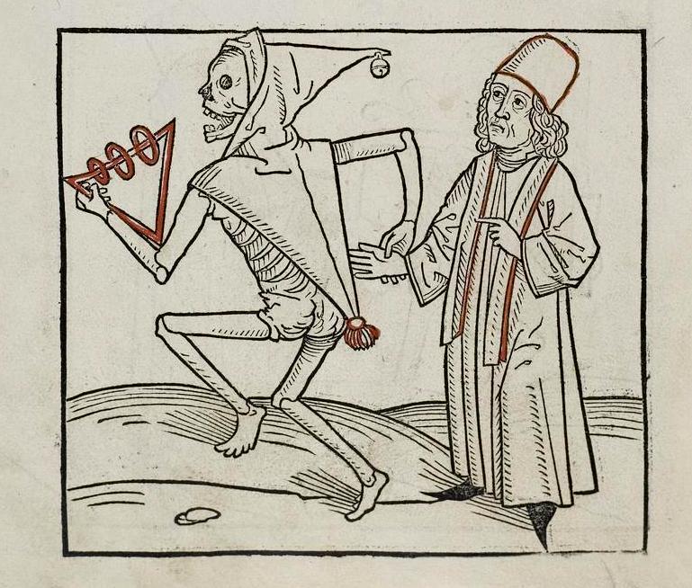 Figura 4. Dança da Morte, Heinrich Knoblochtzer, c. 1488