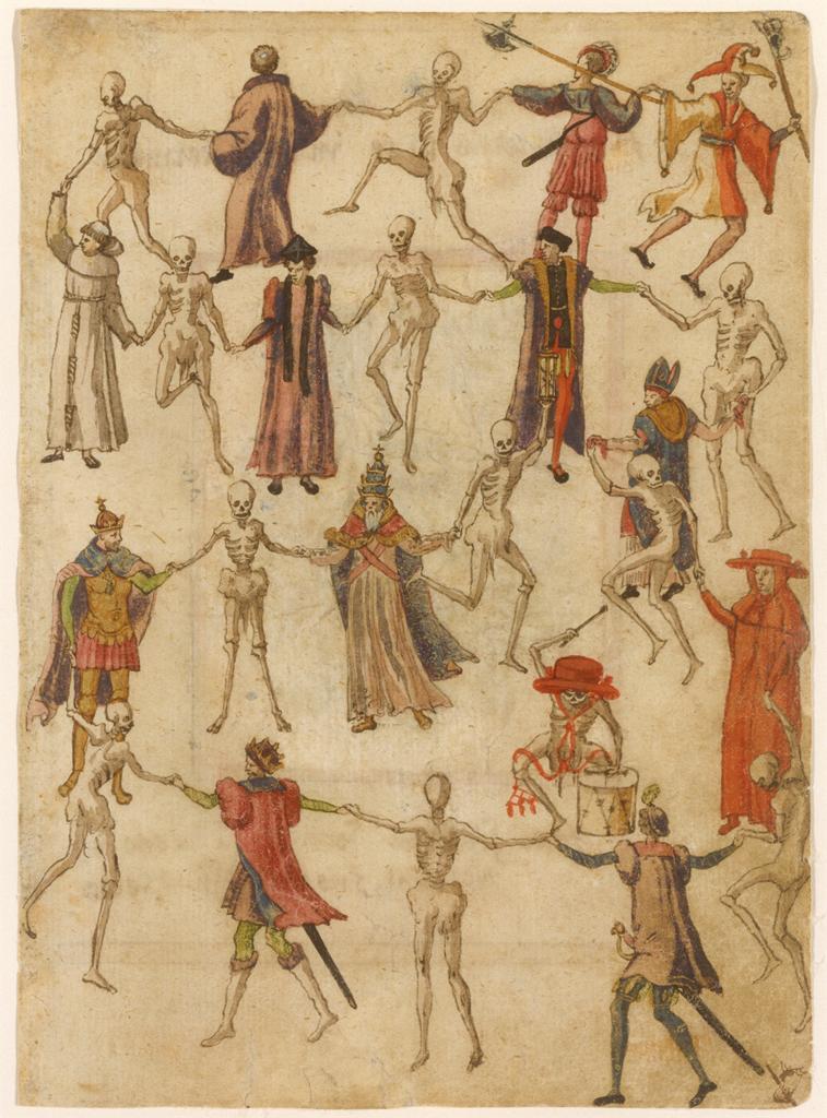 Figura 1. Dança da Morte. Alemanha. Séc. XVI
