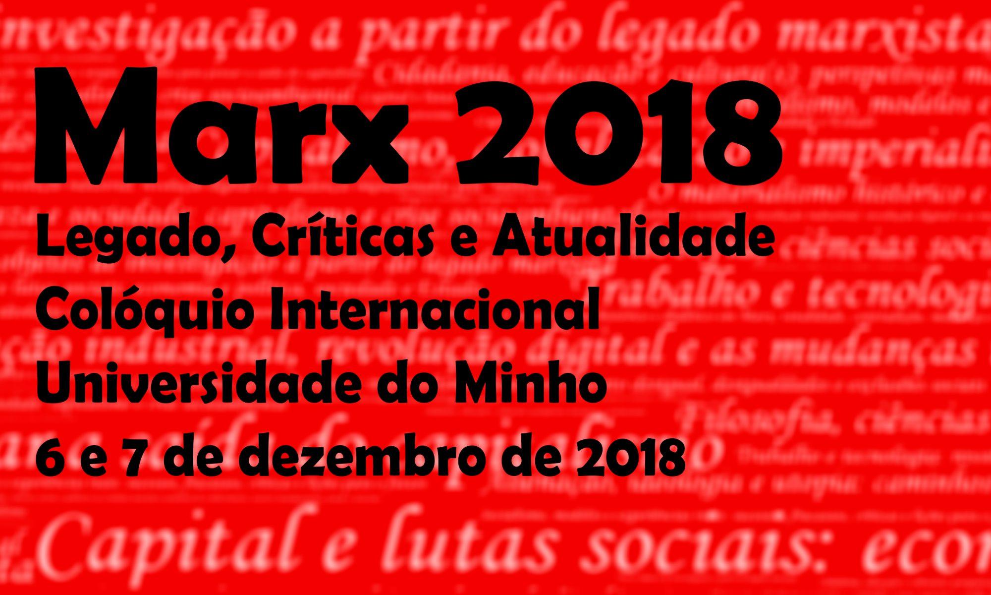 Marx 2018